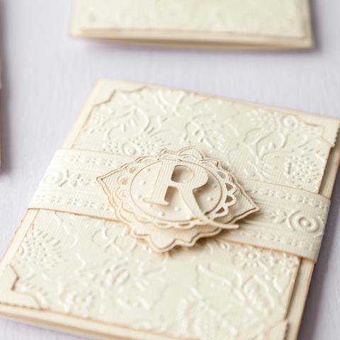2001947 Cuttlebug 5x7 Poppy By Anna Griffin 3 4 Card Sample Invites Weddingwedding