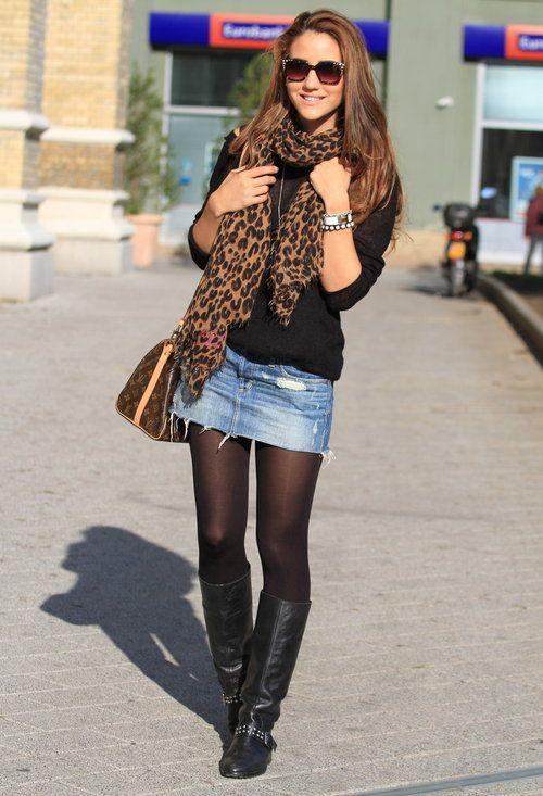 Autumn Sun  , Abercrombie Fitch dans Jupes, Topshop dans Boots, Louis Vuitton da…