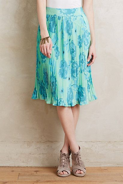 Palm Beach Skirt #anthropologie