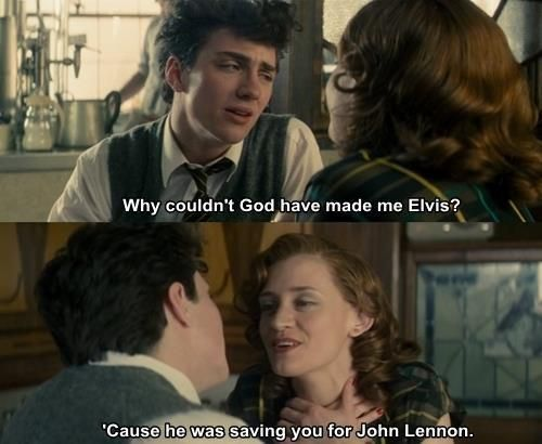 Great Scene From Nowhere Boy Starring Aaron Taylor Johnson