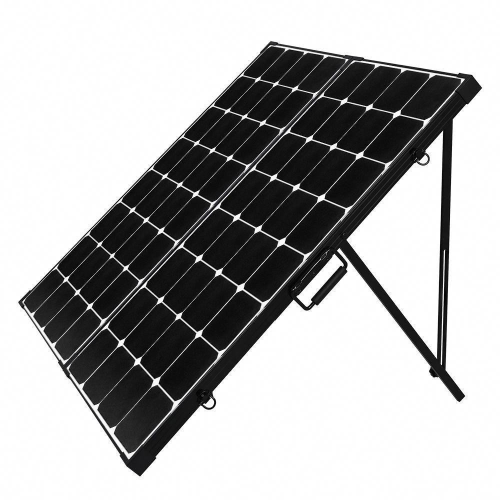 200 Watt Eclipse Monocrystalline Solar Suitcase Solar Panels Solar Energy Panels Best Solar Panels