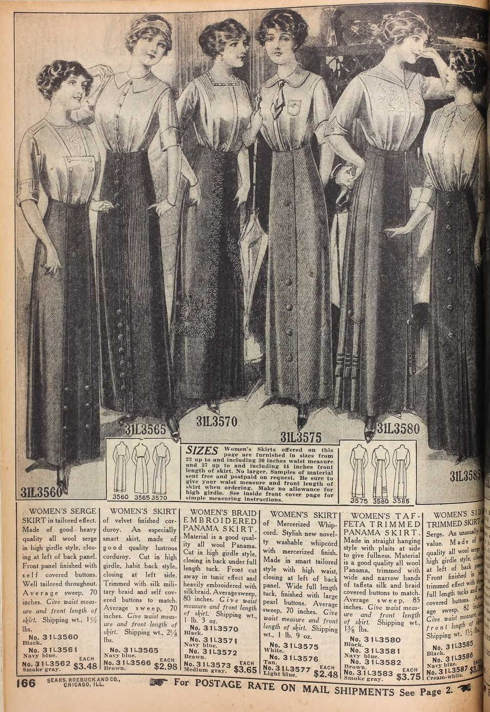 Fashion 1910 to 1920 - 40 Years Of Fashion Evolution Before Your Very Eyes