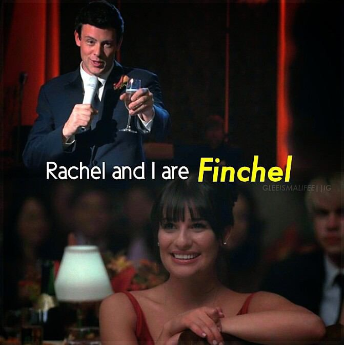 Rachel And Finn Dating In Real Life