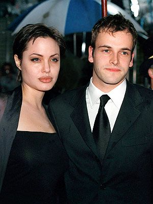 Johnny Lee Miller and Angelina Jolie   - I had no idea that they married some years ago !