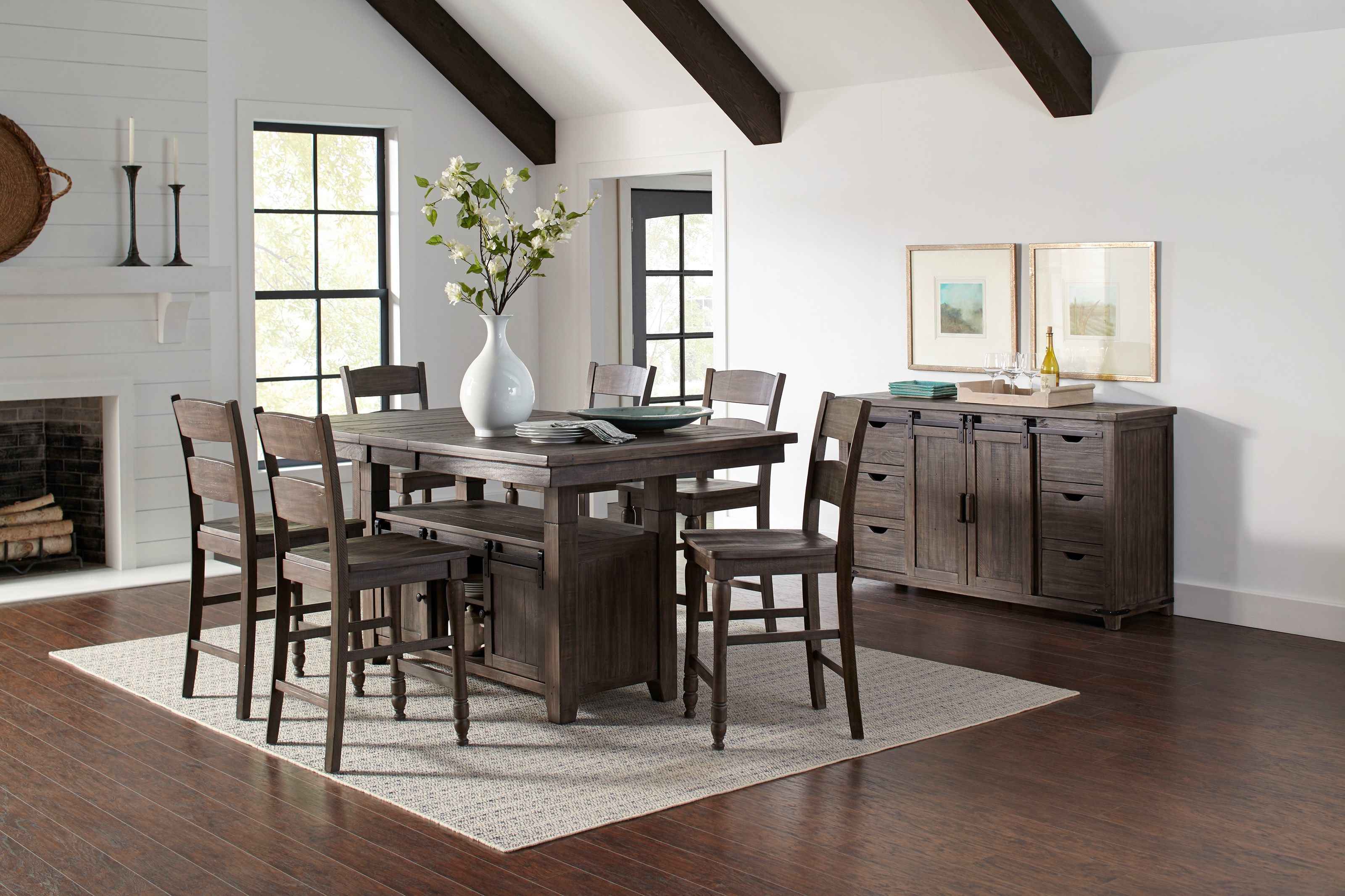 Jofran Madison County High/Low Dining Table | H.L. Stephens | Kitchen Tables
