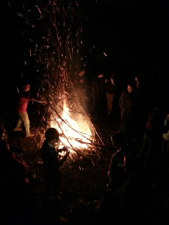Bonfire I just got home from