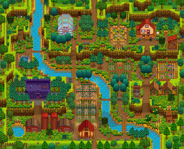 My First Min Max Aesthetic Run Summer Y1 Stardewvalley Stardew Valley Stardew Valley Layout Stardew Valley Farms
