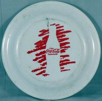 """5"""" Coca-Cola mini Frisbee Humphrey Flyer - made in USA Used- good condition"""