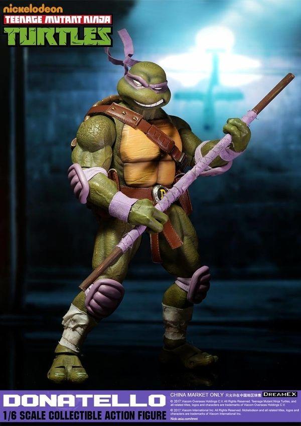 Teenage Mutant Ninja Turtles TMNT Donatello and Michelangelo Action Figures