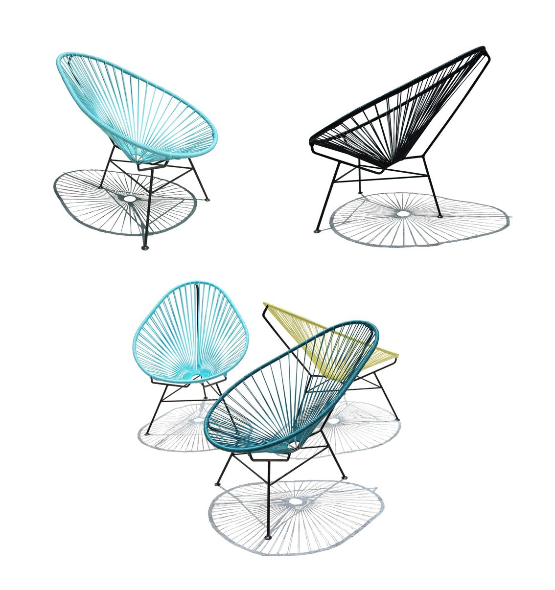 The Acapulco Chair By Carlos Ocho From Ok Design.