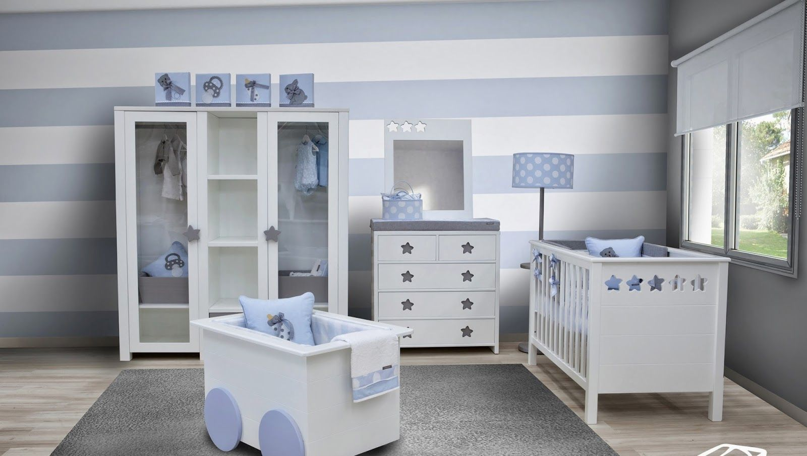 Bb the countrybaby blog ideas para decorar el dormitorio - Cuartos bebes recien nacidos ...