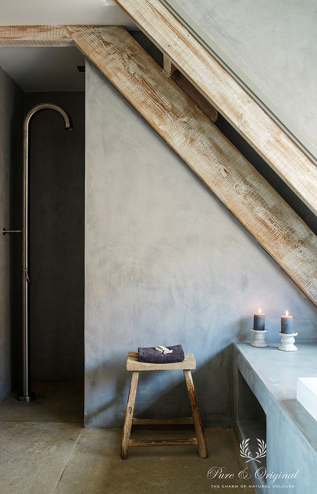 Marrakech Walls Is A Revolutionary 100 Mineral Paint With The Appearance Of Tadelakt Or A Concrete Look In Between Plaster And Pai Kalkmaling Interior Hus