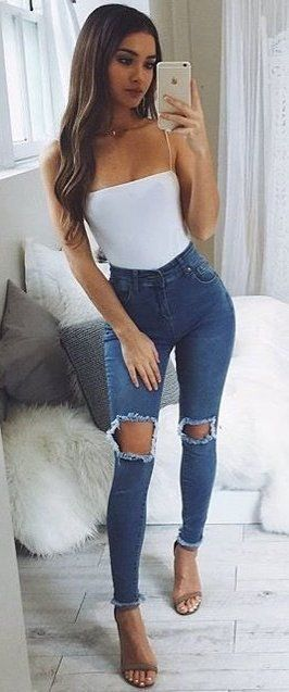 96fba7457108 101 Hot Summer Outfit Ideas To Try Right Now  summer  outfit  style Visit  to see full collection