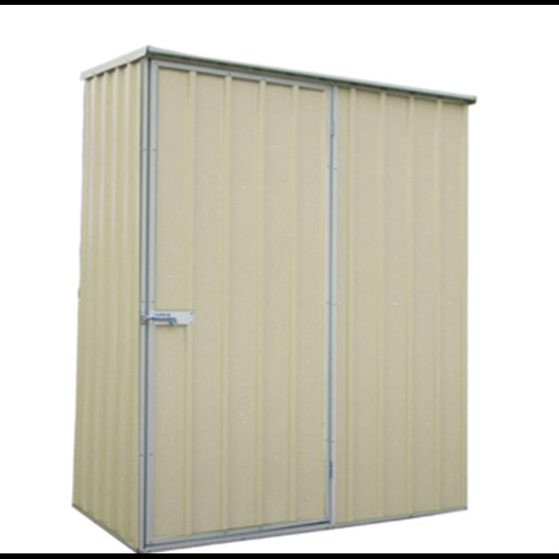 Garden Sheds 3x3 qiq fix 1.5 x 0.8 x 1.9m cream garden shed | garden sheds