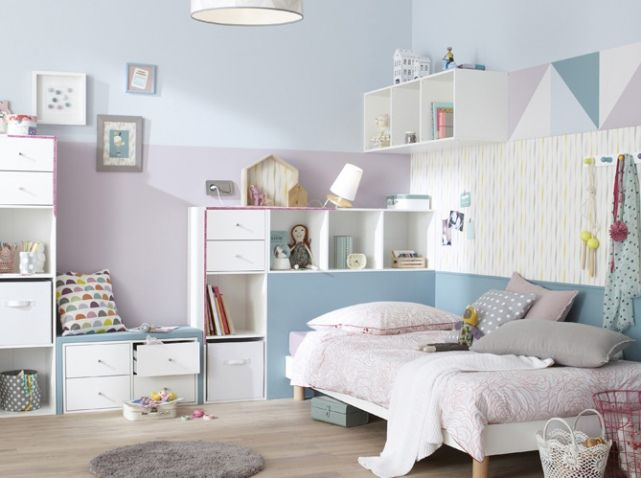 papier peint enfant rose jaune leroy merlin chambres d 39 enfants kids rooms pinterest. Black Bedroom Furniture Sets. Home Design Ideas