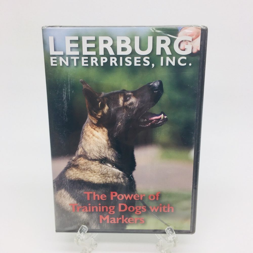 The Power Of Training Dogs With Markers Dvd Leerburg Buckeye
