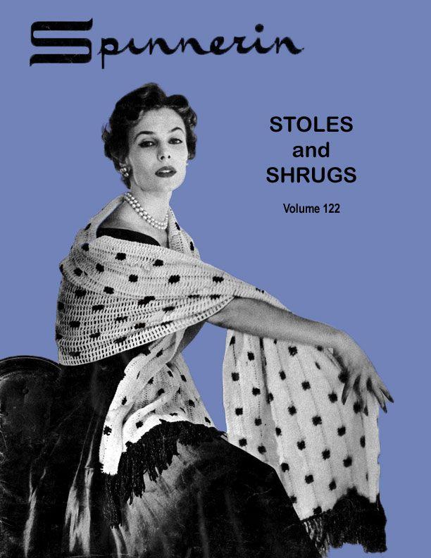 Stoles & Shrugs | Spinnerin Volume 122 | X vintage patronen ...
