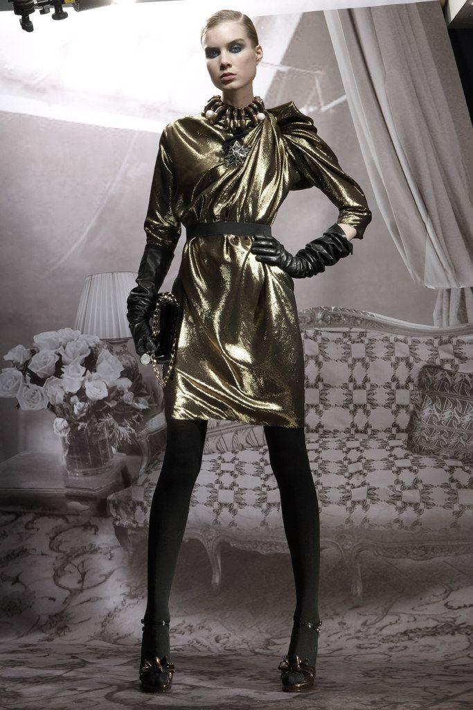 Lanvin Pre-Fall 2009 Fashion Show - Elsa Sylvan