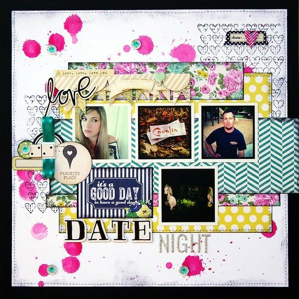 Date Night *LRS, Unity Stamps* - Two Peas in a Bucket
