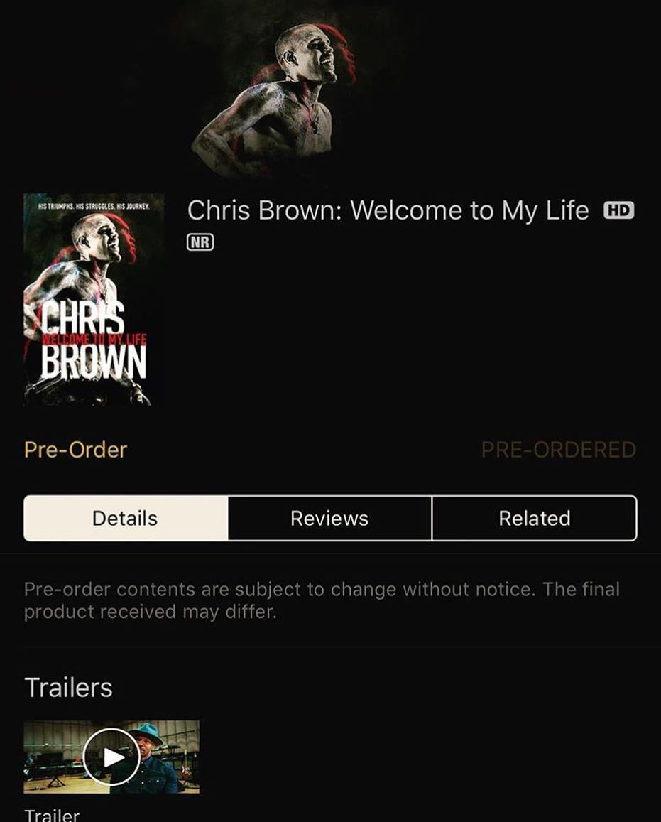 Pre-Order #WelcomeToMyLife on iTunes now 🎬 everyone  who went tonight, I thank you for becoming family. ❤️