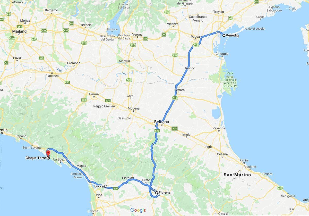 Roadtrip Norditalien Die Schonsten Italien Sehenswurdigkeiten Im