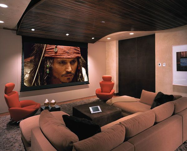 Best 25 movie rooms ideas on pinterest theater rooms entertainment room and movie theater - Home theater room design ideas ...