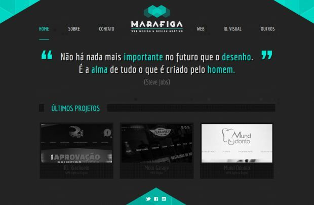 Marafiga Web Design And Graphic Design Webdesign Inspiration On Www Niceoneilike Com Fun Website Design Website Design Web Design