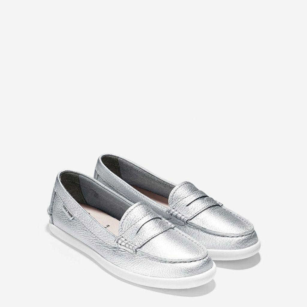 b4b0beef39d Cole Haan Pinch Leather Weekender Shoe In Silver