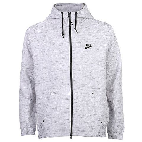 NIKE TECH FLEECE FULL ZIP AW77 1.0 BIRCH HEATHER | Nike