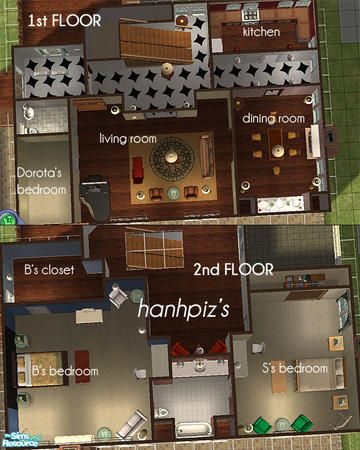 Hanhpizu0027s Gossip Girl Blair Waldorf Apartment (House)