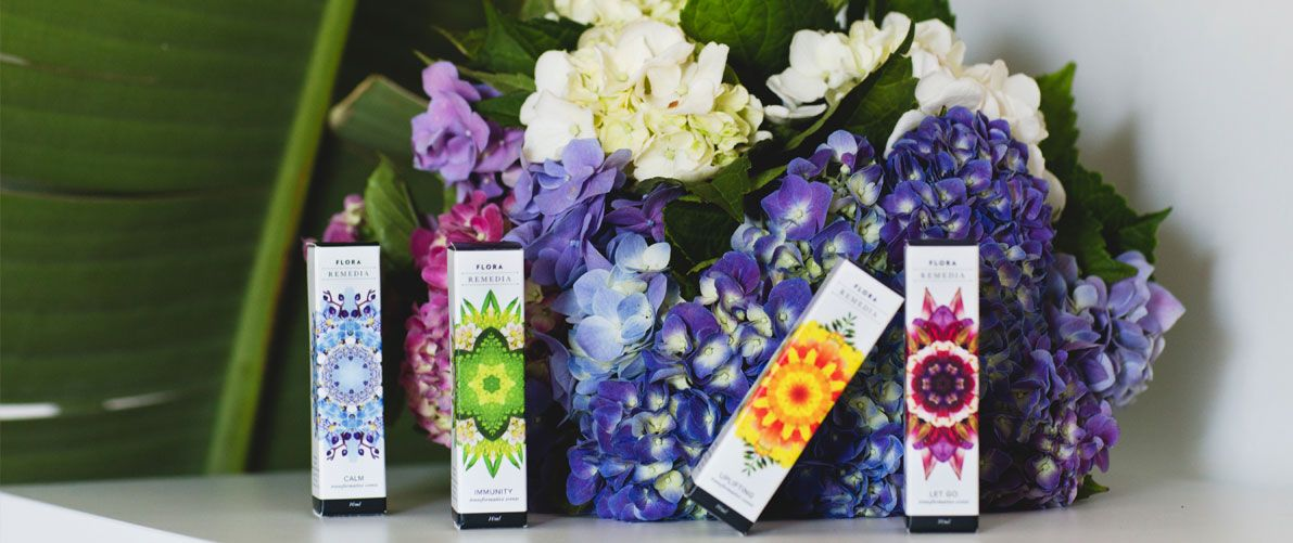 Flora Remedia Aromatherapy, Essential Oils, and Flower