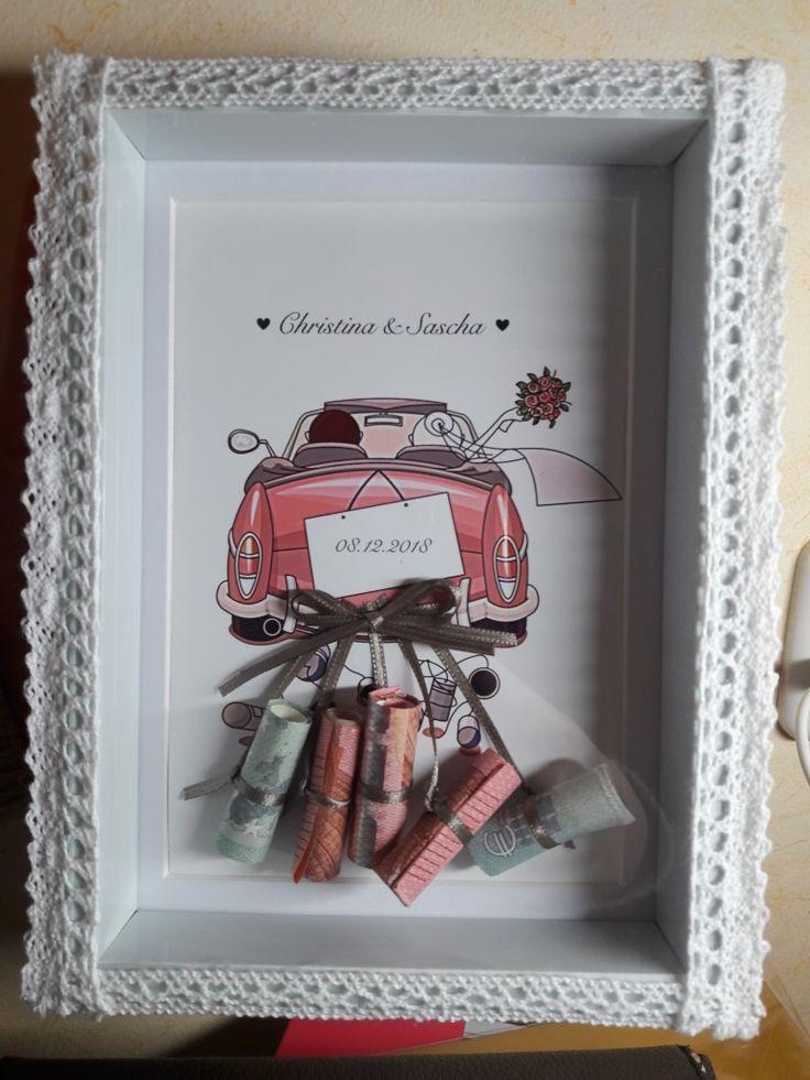 Geschenk zur Trauung – Hochzeitsgeschenk ideen –  Geschenk zur Trauung  Eine sch…