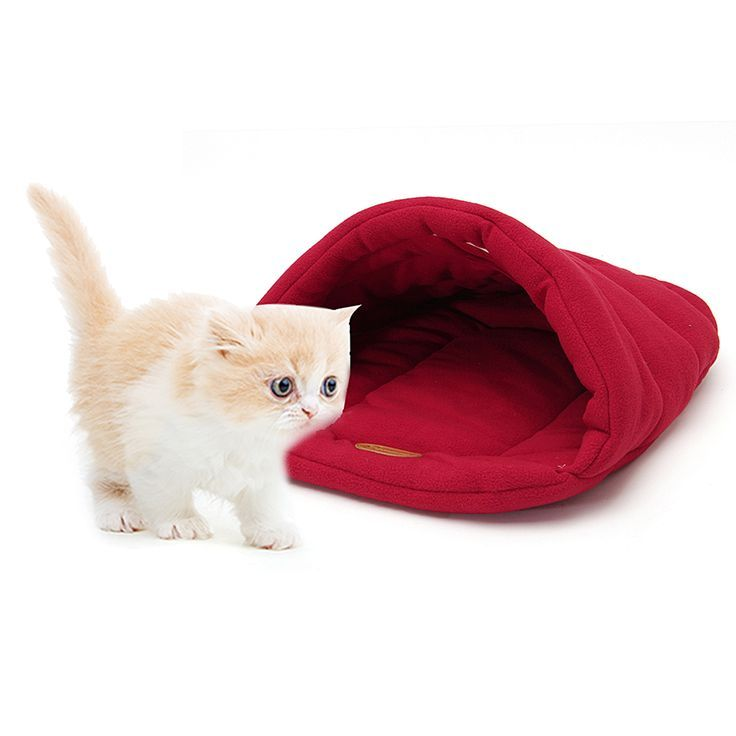 Pet Cat Dog Nest Bed Puppy Soft Warm Cave House Home Sleeping Bag Mat Pad SML Pet Cat Dog Nest Bed Puppy Soft Warm Cave House Home Sleeping Bag Mat Pad SML