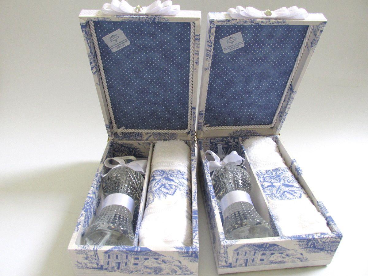 Caixa Kit Lavabo - Presente Madrinha