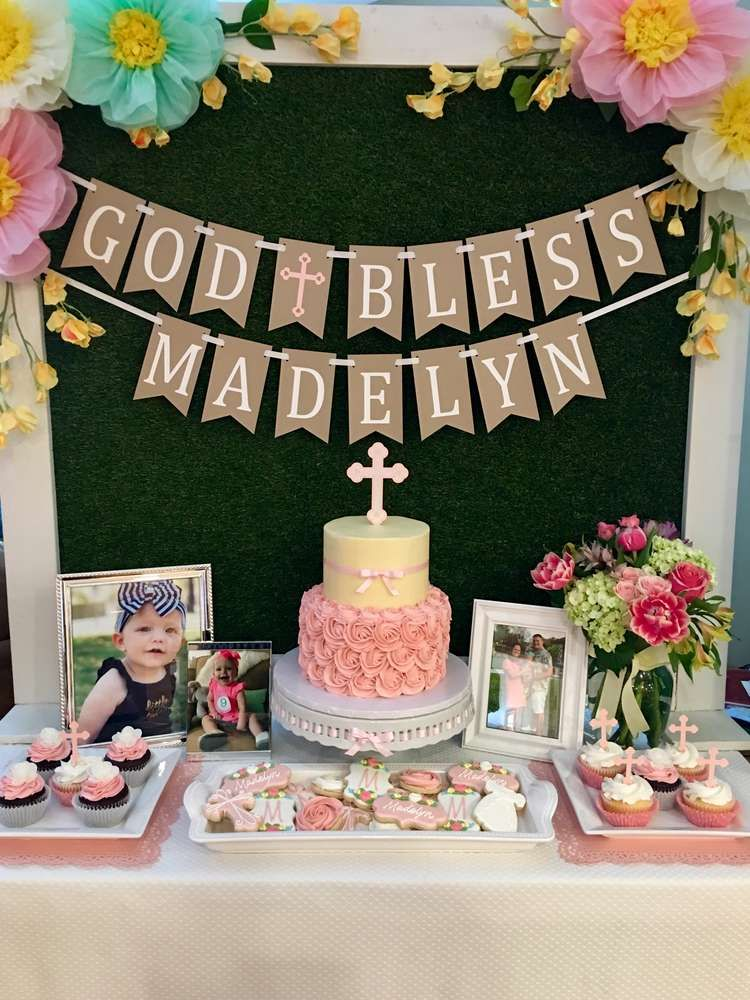 Baptism Party Ideas With Images Boy