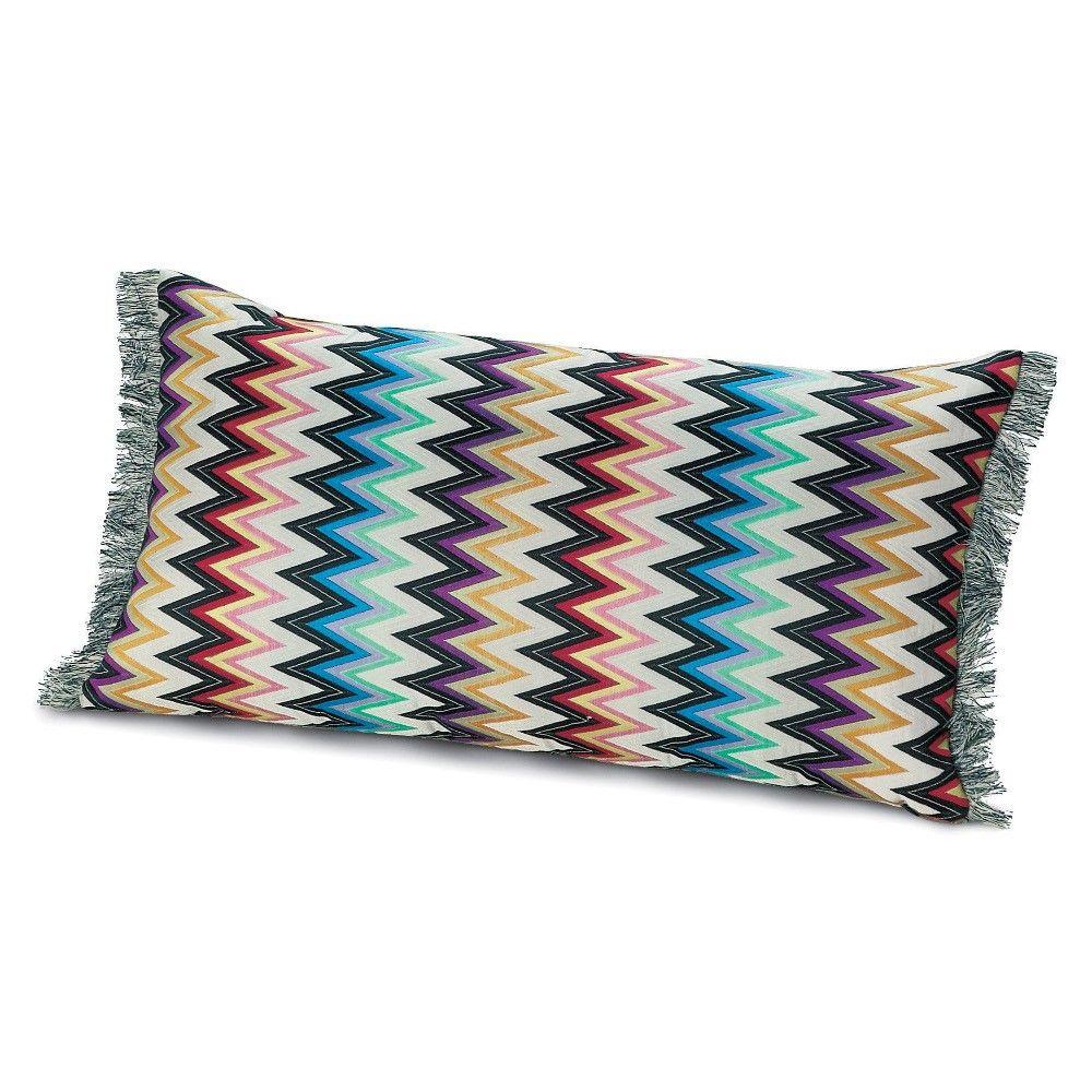 Missoni Home Gravita Oman Leather: Discover The Missoni Home Markusy Cushion