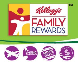Kellogg S Family Rewards 100 Free Points Shopping Hacks Free