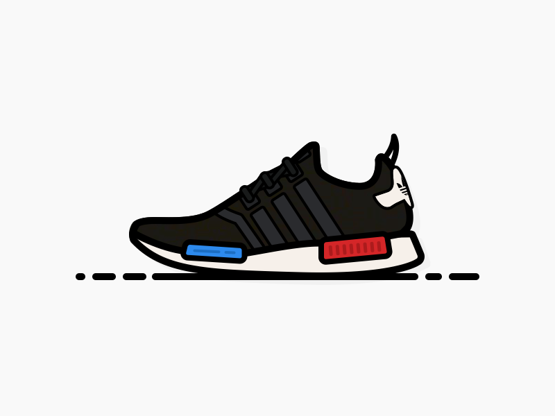 greece adidas nmd runner triple negro reflective decals