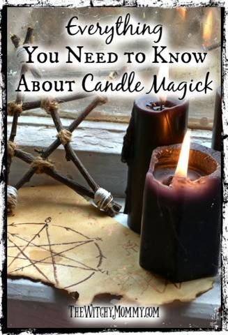 Candle Spells: Everything You Need to Know About Candle Magick #candlemagick