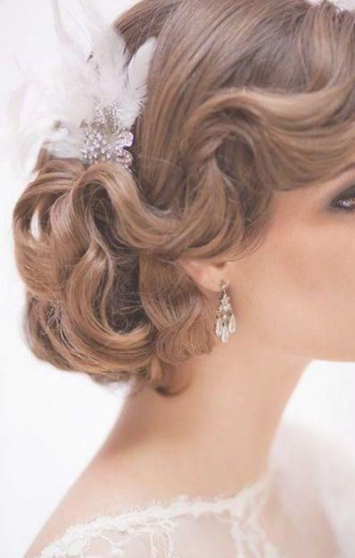 35 Ideas Vintage Wedding Hairstyles 1920s Classy Wedding Hairstyles Vintagewedding Vintage Wedding Hair Retro Wedding Hair Classic Wedding Hair
