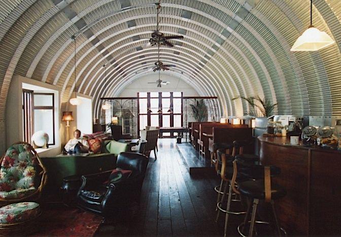 Beau Quonset Hut Interiors | ... Bar Fox Studios, Mexico. Interior Of .