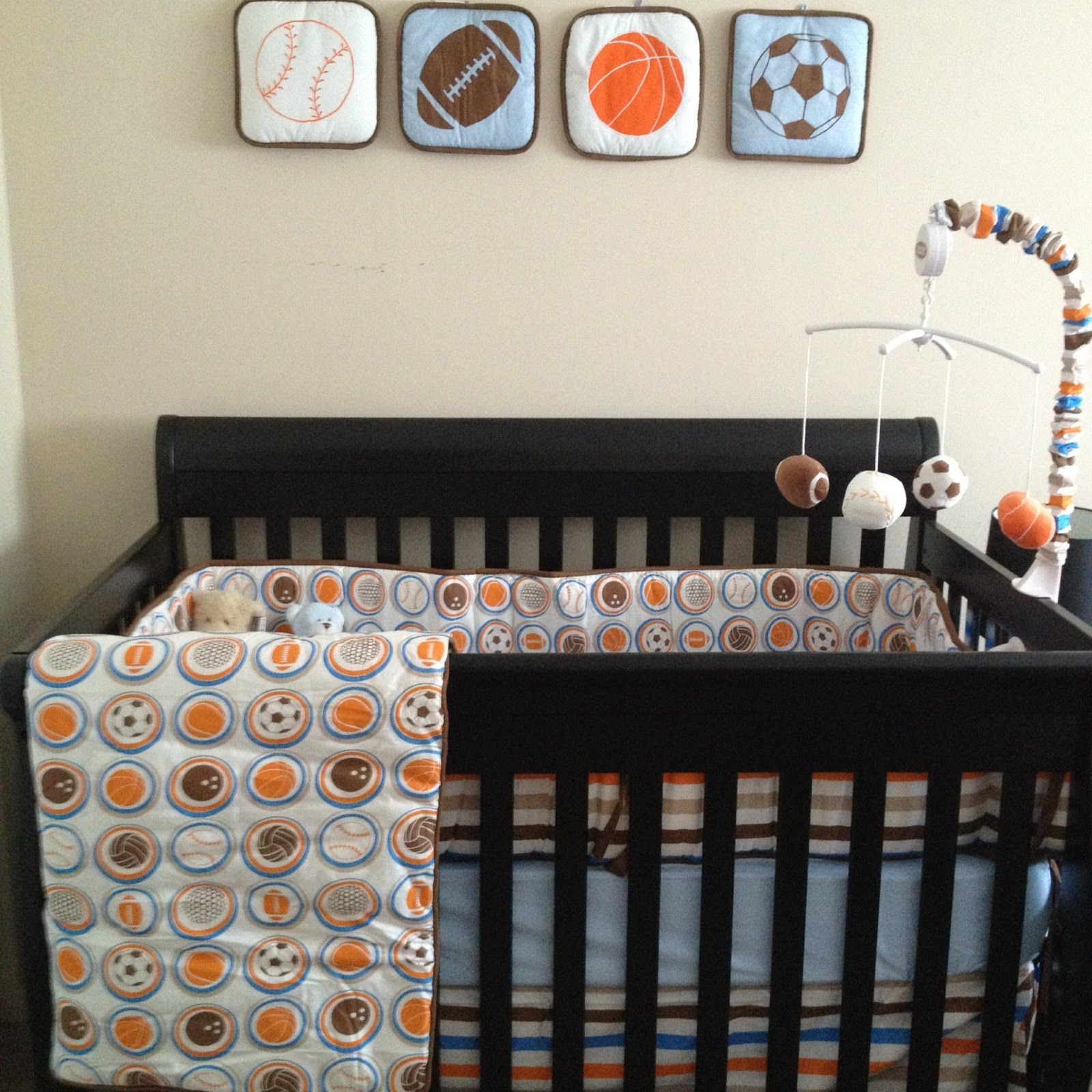 ordinary Baby Boy Crib Bedding Sports Theme Part - 10: baby boy, sports, nursery, boy bedding, bedding, crib set, davinci, kalani,  bacati
