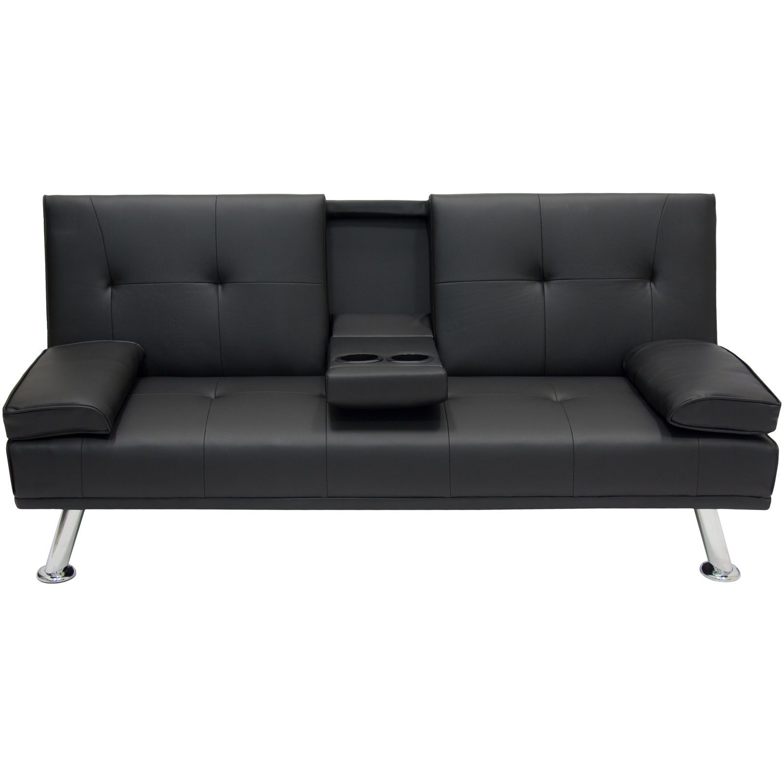 Entertainment Furniture Futon Sofa Bed Fold Up Down Recliner Couch