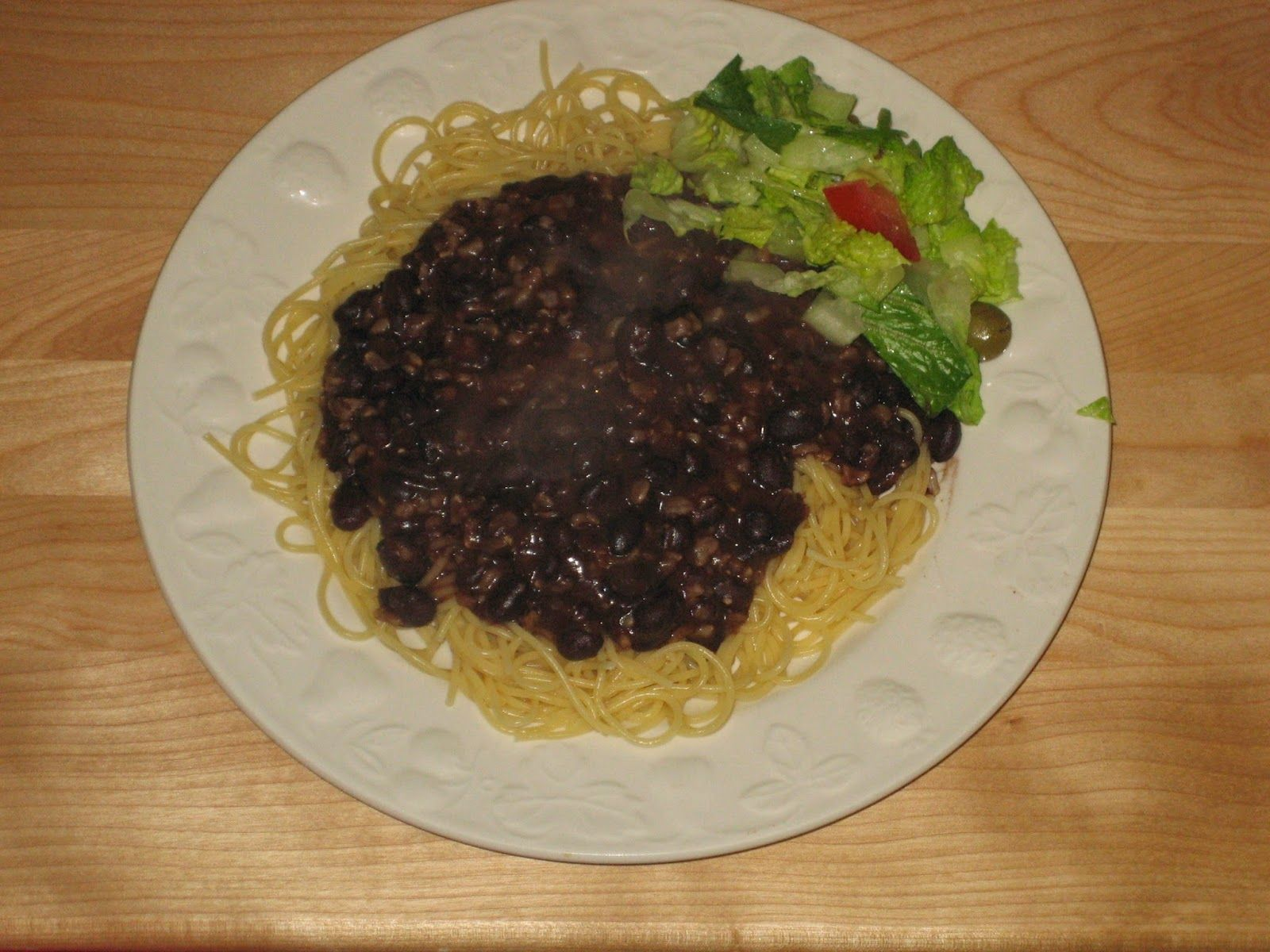 Copycat Skyline Black Beans And Rice Vegetarian Recipes Vegetarian Chili Recipe Black Beans And Rice