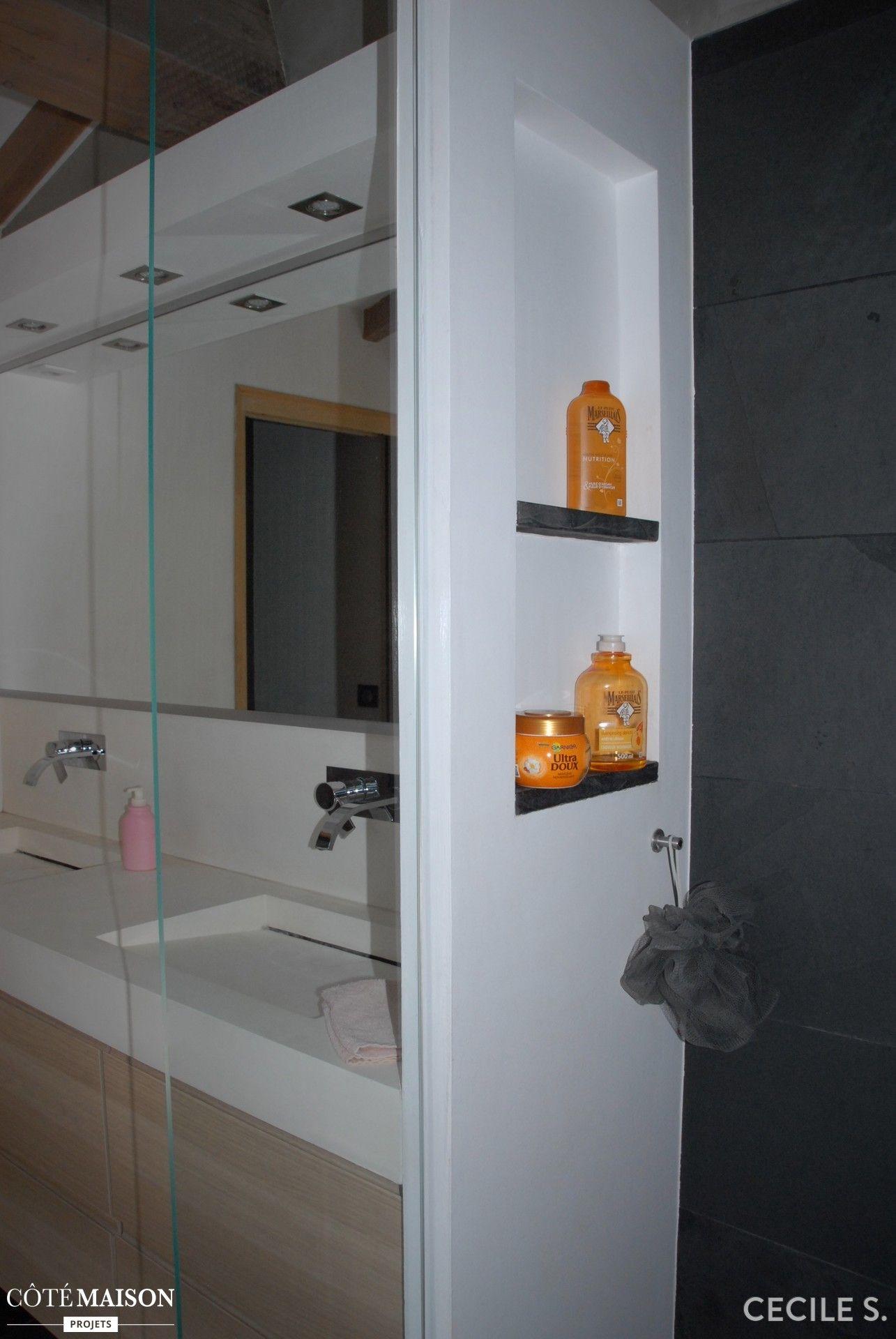Notre Belle Salle De Bains Parentale Dans Le Grenier Ludo - Cote maison salle de bain
