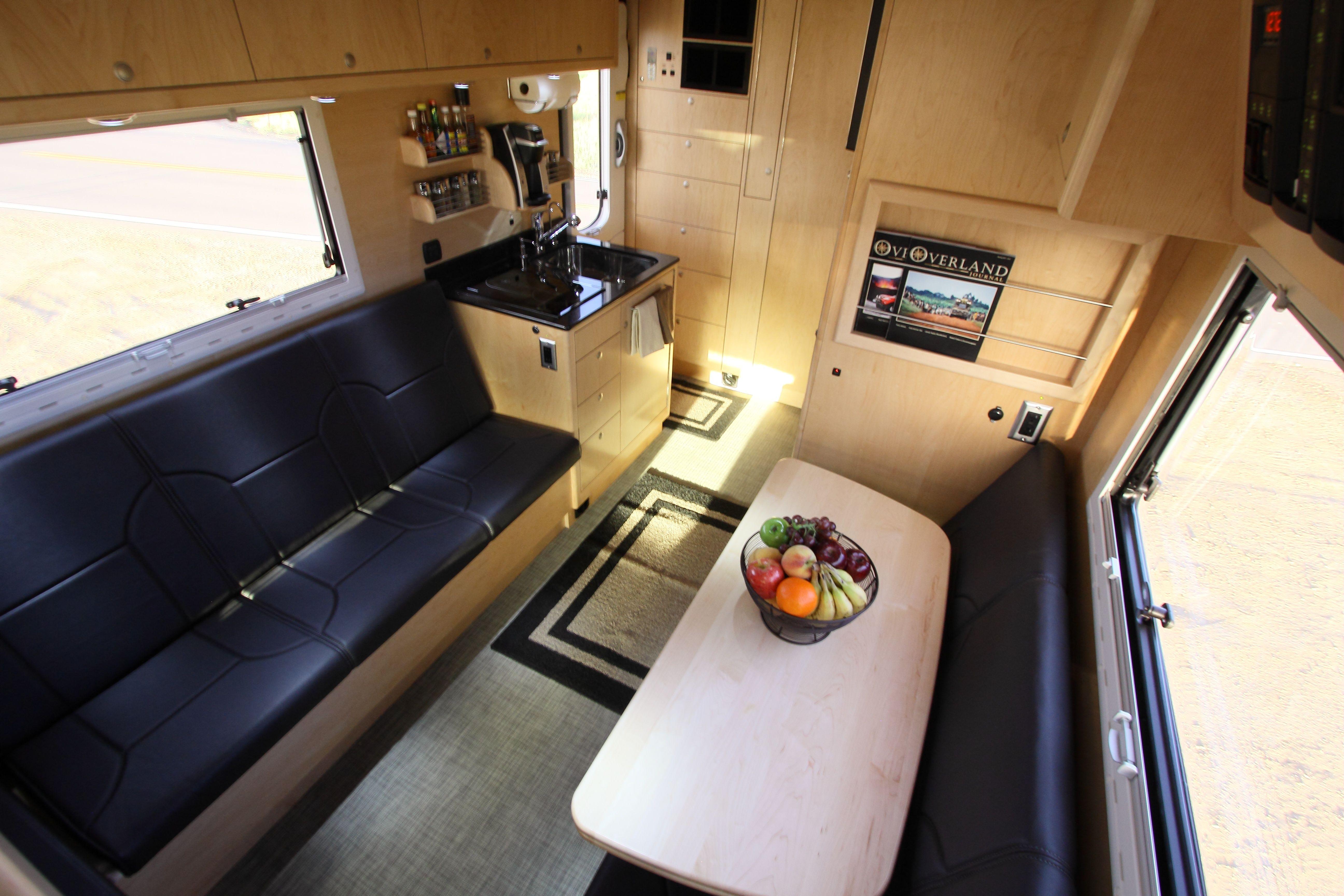 EarthRoamer Home made camper trailer, Truck camper, Off