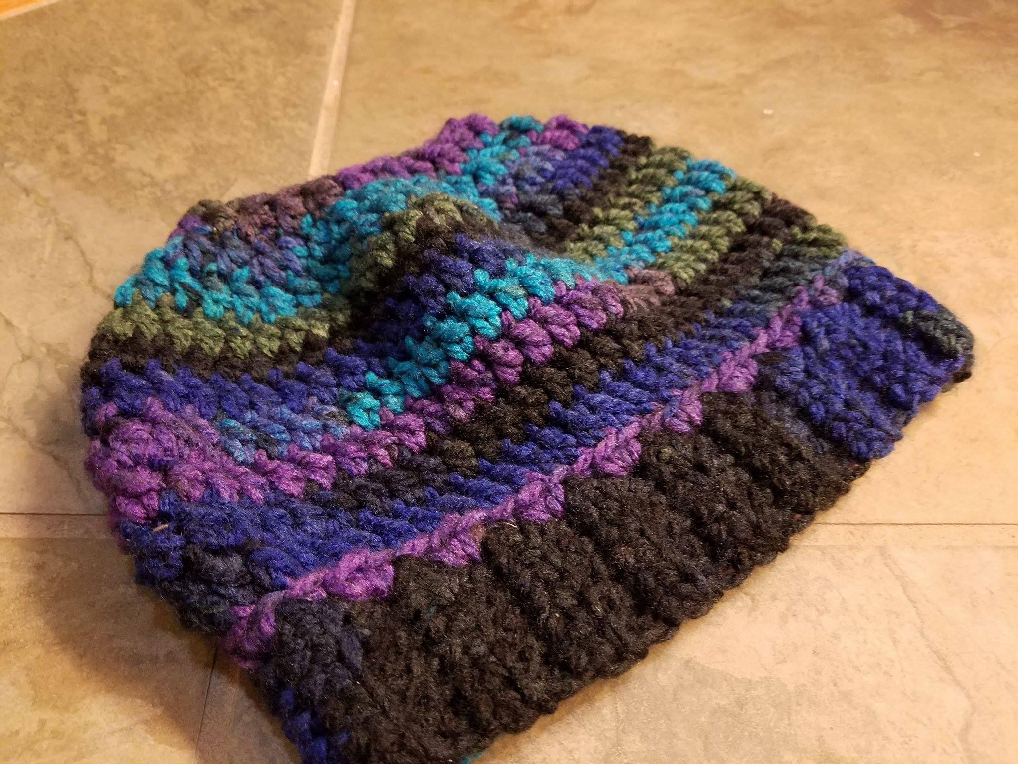 Messy Bun Hat | Messy buns, Yarns and Beanie pattern