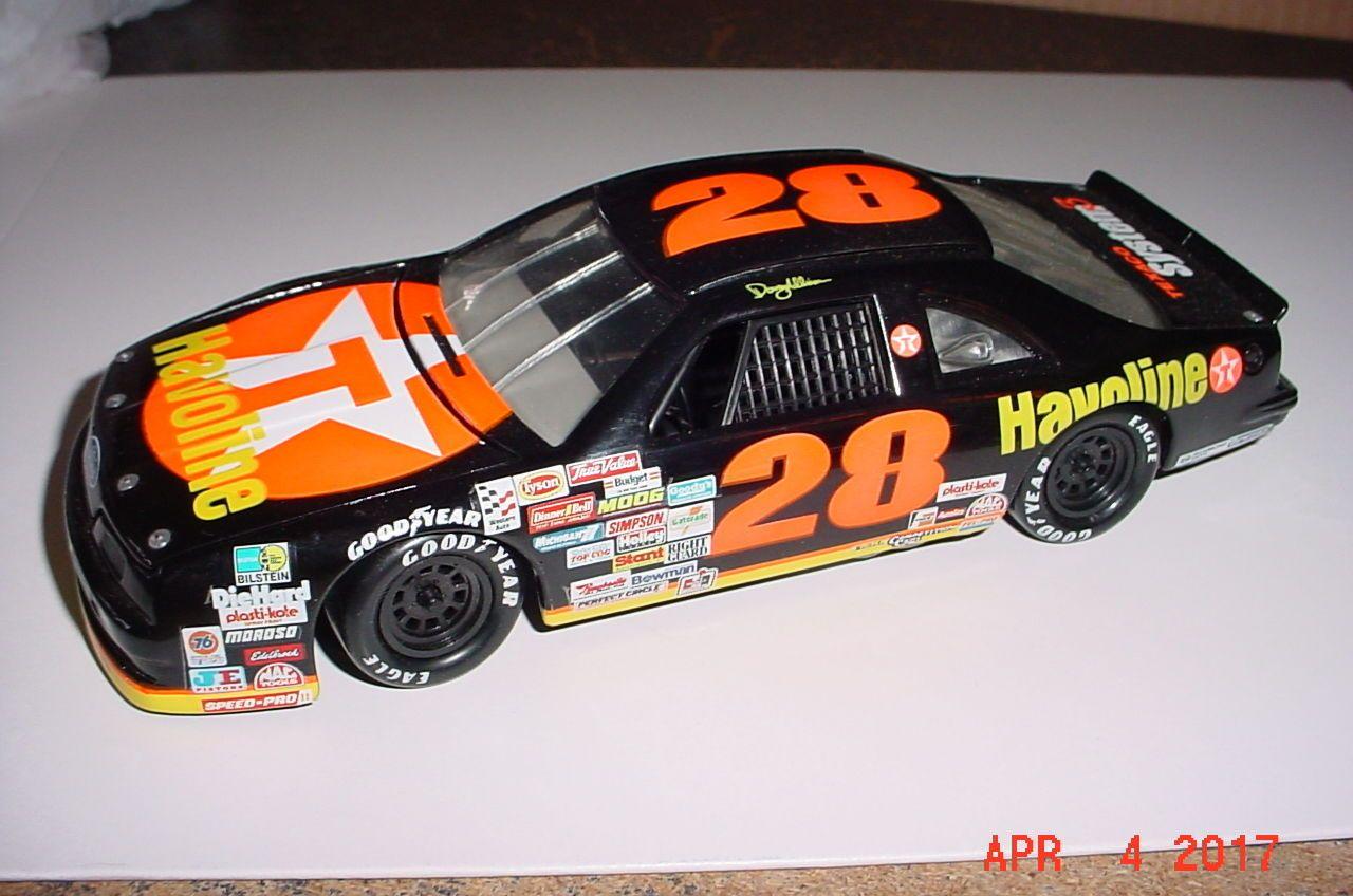 Revell Ford Thunderbird 28 Davey Allison Havoline Nascar 1 24th Nascar Diecast Ford Thunderbird Nascar