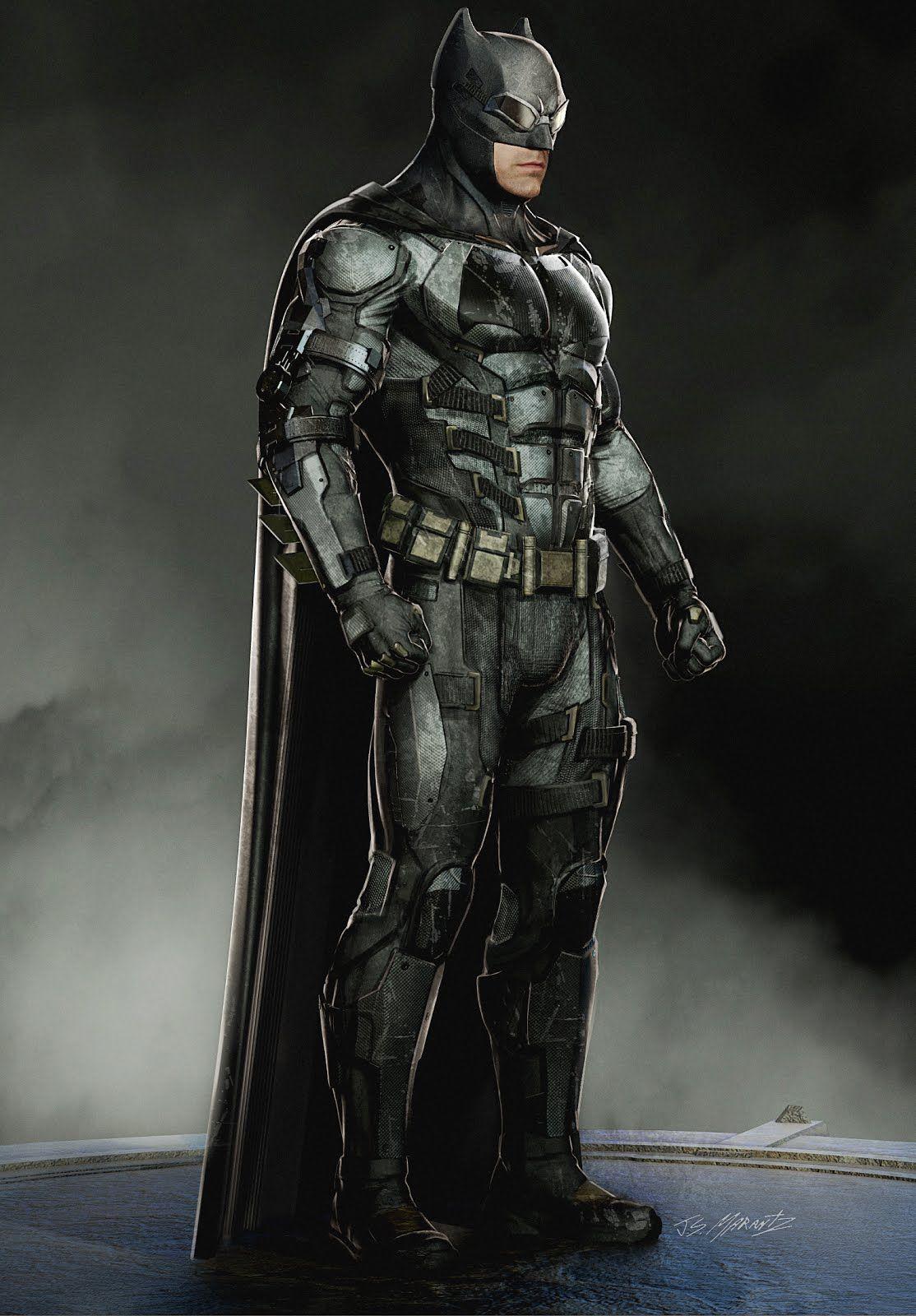 Justice League Concept Art By Jerad Marantz Batman Concept
