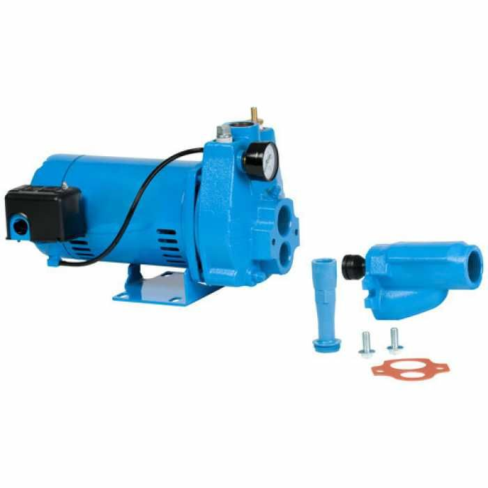 Little Giant 558283 Convertible Jet Pressure Switch Pump 110v 120v 208v 240v Jet Pump Pumps Jet